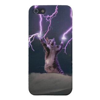 iPhone 5 Cárcasa Gato del relámpago--gato del