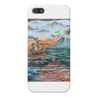 iPhone 5 Carcasa Pintura de Bell del chapucero de la ensenada del