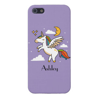 iPhone 5 Cárcasa Unicornio del vuelo