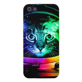 iPhone 5 Cárcasas Astronauta del gato - gato del espacio - gatos