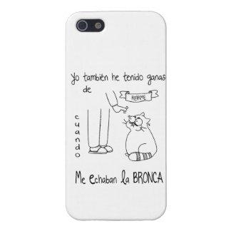 iPhone 5 Cárcasas funda iphone yo también...