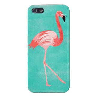 iPhone 5 Carcasas Pájaro del flamenco