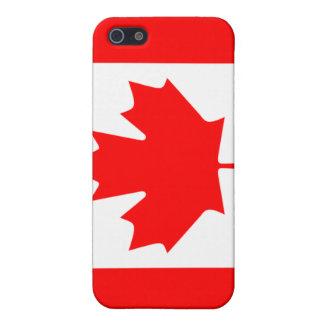 iPhone 5 Cobertura Caja canadiense de la mota de la bandera