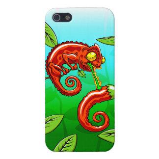 iPhone 5 Coberturas el amor está ciego - fall del camaleón