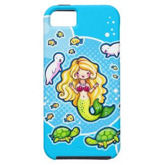iPhone 5 de la sirena linda del del de encargo del iPhone 5 Case-Mate Protector