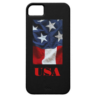 iPHONE 5 del DISEÑO de la BANDERA de los E.E.U.U. iPhone 5 Case-Mate Funda