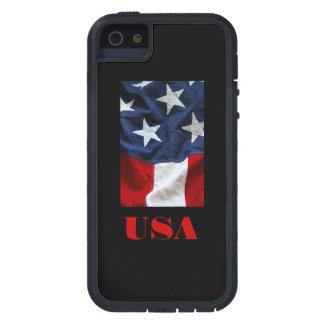 iPHONE 5 del DISEÑO de la BANDERA de los E.E.U.U. iPhone 5 Cárcasas