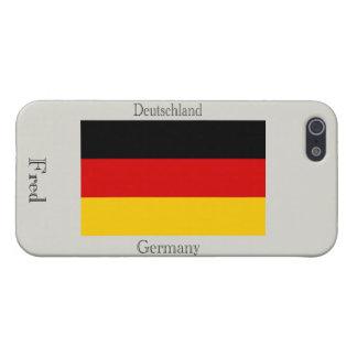iPhone 5 Funda Bandera de Alemania