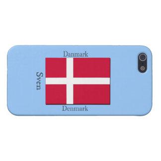 iPhone 5 Protector Bandera de Dinamarca