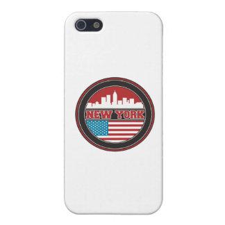 iPhone 5 Protector El horizonte el   Estados Unidos de Nueva York