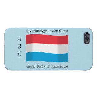 iPhone 5 Protector Luxemburgo señala por medio de una bandera