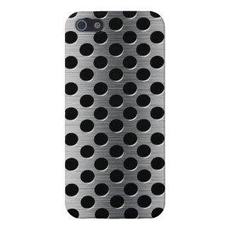 iPhone 5 Protector Rejilla perforada del metal