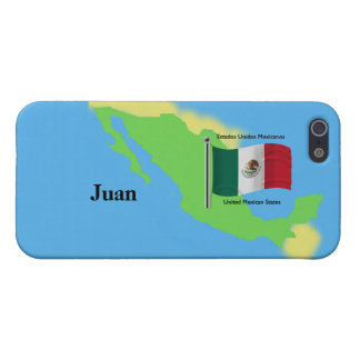 iPhone 5 Protectores Mapa y bandera de México