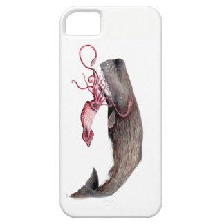 Iphone 5S Carcasa de móvil Cachalote y calamar