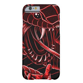 iPhone 6/6s, caso de la serpiente del diablo de Funda Barely There iPhone 6