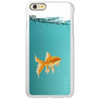 iPhone 6/6S del Goldfish más el brillo de Incipio