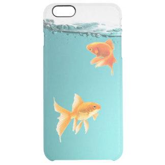 iPhone 6/6S del Goldfish más el caso claro Funda Transparente Para iPhone 6 Plus