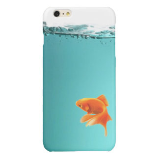 iPhone 6/6S del Goldfish más el caso listo