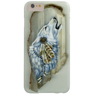iPhone 6/6s del grito White Wolf más, Barely There Funda Barely There iPhone 6 Plus