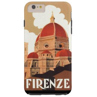 iPhone 6/6S del poster de Firenze más el caso duro Funda Para iPhone 6 Plus Tough
