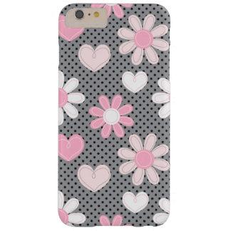 iPhone 6 corazones más de los lunares el   de las Funda Barely There iPhone 6 Plus