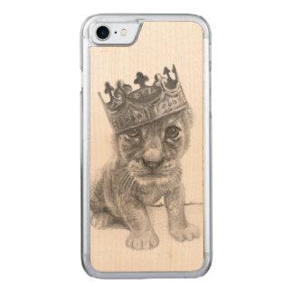 iPhone 6 del león del bebé Funda Para iPhone 8/7 De Carved