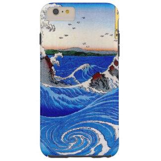 iPhone 6 más, ambiente/ONDAS, MAR SALVAJE Funda Resistente iPhone 6 Plus