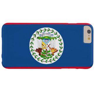 iPhone 6s de la bandera de Belice más el caso Funda Barely There iPhone 6 Plus