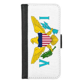 iPhone 7/8 caja de la cartera con la bandera de