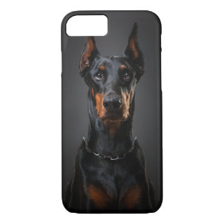 iPhone 7, Barely There del Doberman Funda iPhone 7