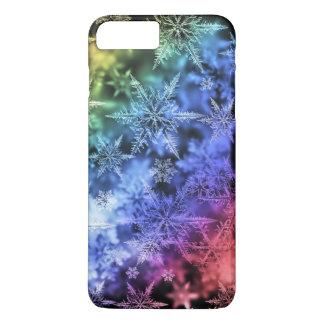 ¡iPhone 7 casos con los copos de nieve! Funda iPhone 7 Plus