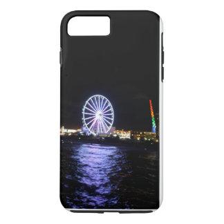 iPhone 7 + Escena más del océano de la funda