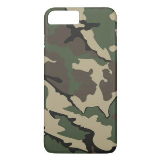iPhone 7 más, caso de Camo de Barely There Funda iPhone 7 Plus