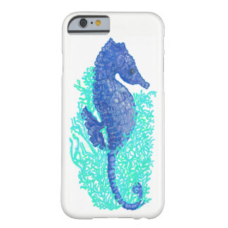 iPhone animado 6/6s, caso del Seahorse de Barely Funda Barely There iPhone 6