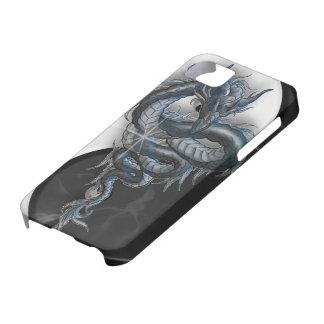 iPhone chino 5 Barely There del dragón de Yin Yang iPhone 5 Case-Mate Cobertura