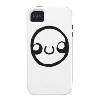 iPhone con una cara Case-Mate iPhone 4 Funda