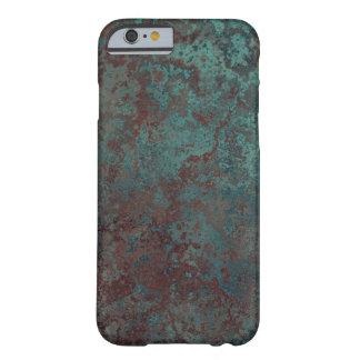 """iPhone """"de cobre"""" 6/6S de la impresión de la Funda Barely There iPhone 6"""
