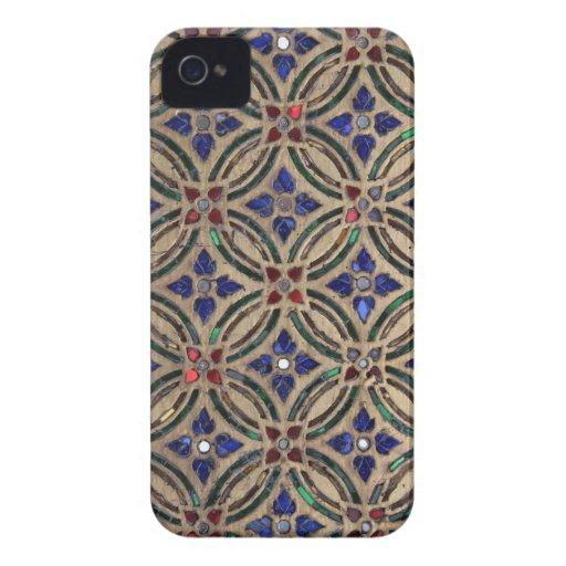 iPhone de cristal 4S de la foto de la piedra del m iPhone 4 Case-Mate Coberturas