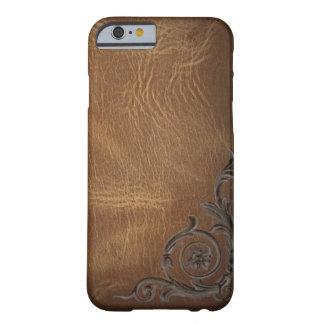 iPhone de cuero occidental del marrón del modelo Funda De iPhone 6 Barely There