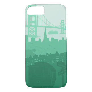 iPhone de la carretilla de puente Golden Gate de Funda iPhone 7