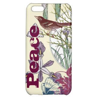 iPhone de la flor del pájaro de la mariposa de la