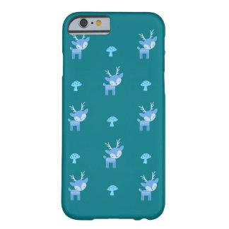 iPhone de los ciervos/caja azules del iPad Funda Barely There iPhone 6