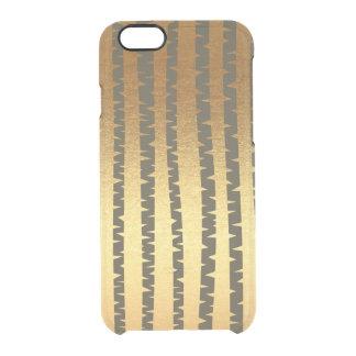 iPhone de madera Clearly™ del árbol de madera de Funda Transparente Para iPhone 6/6s