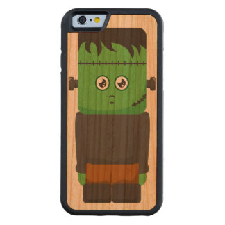 iPhone de madera de Frankenstein Funda De iPhone 6 Bumper Cerezo