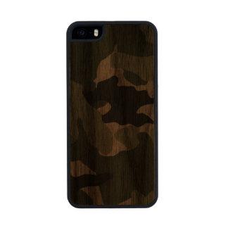 iPhone de madera militar verde de Camo Carved® 5