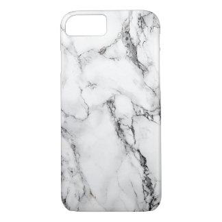 ¡iPhone de mármol 7, caso de Barely There! Funda iPhone 7