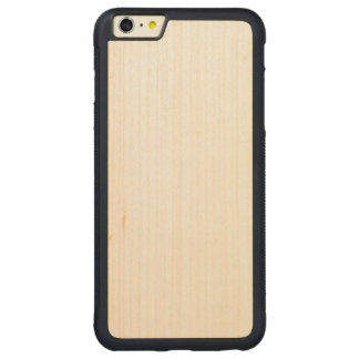 iPhone de parachoques de madera 6/6s más el caso Funda Para iPhone 6 Plus De Carved® De Nogal