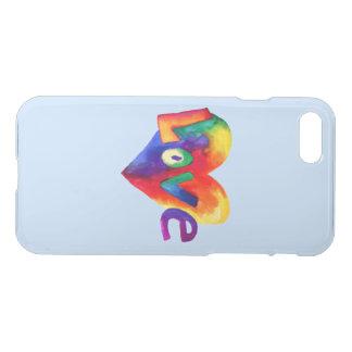 iPhone del arte del arco iris de la palabra del Funda Para iPhone 7