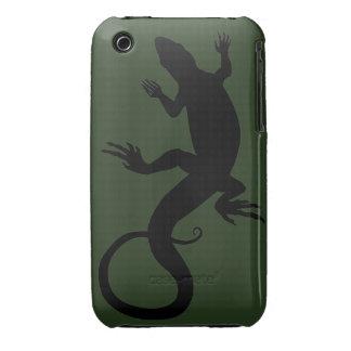 iPhone del lagarto 3 regalos del lagarto del arte iPhone 3 Protectores