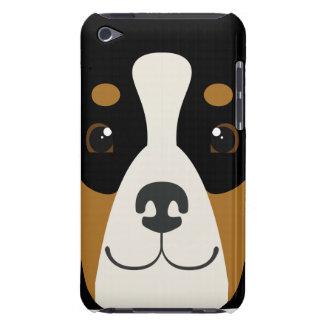 iPhone del perro de montaña de Bernese o cubierta Funda iPod